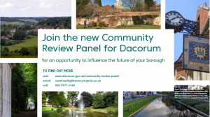 Join Dacorum's new Community Review Panel!