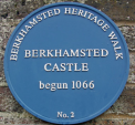 Image: Berkhamsted's Blue Plaque